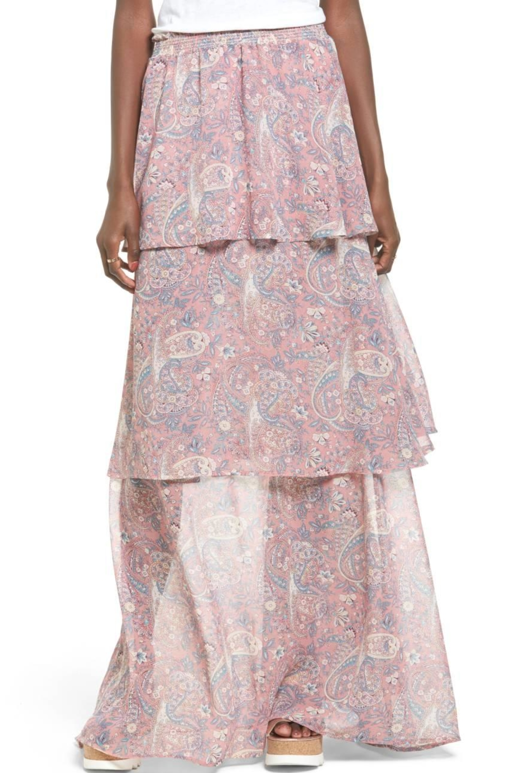 Show Me Your Mumu Pink Skirt Dress - Side Cropped Image