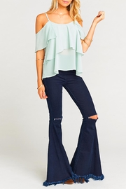 Show Me Your Mumu Romance Ruffle Top - Product Mini Image