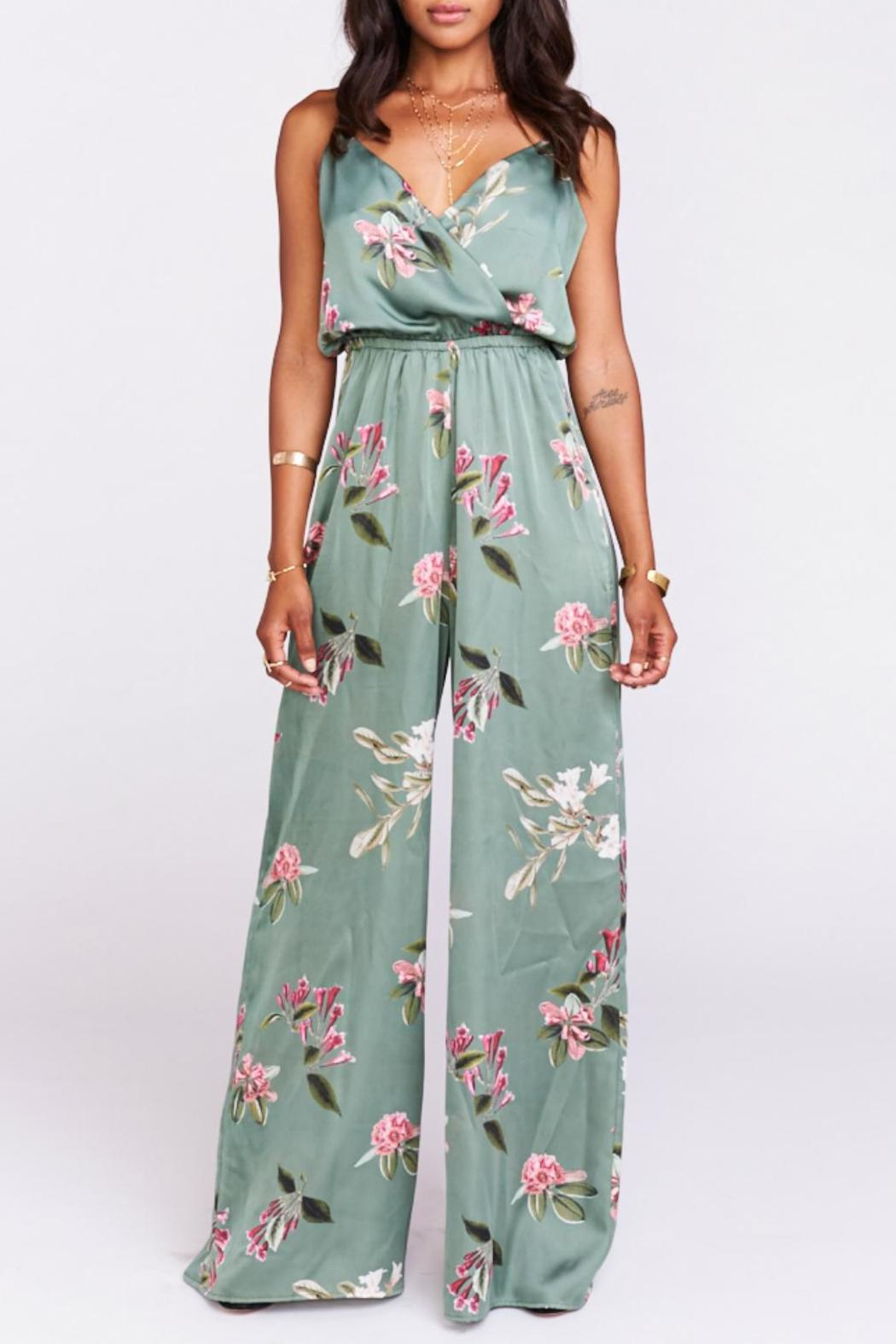 Show Me Your Mumu Satin Floral Jumpsuit from Dallas by ...