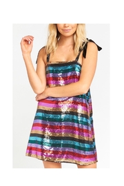 Show Me Your Mumu Sequence Stripe Dress - Product Mini Image