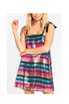 Show Me Your Mumu Sequence Stripe Dress - Product List Image