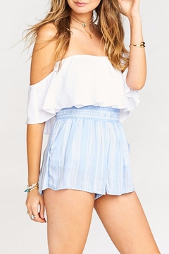 Show Me Your Mumu Serena Smocked Shorts - Product List Image