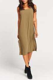 Show Me Your Mumu Shiloh Olive Dress - Front cropped