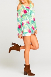 Show Me Your Mumu Shiver Shoulder Sweater - Front full body