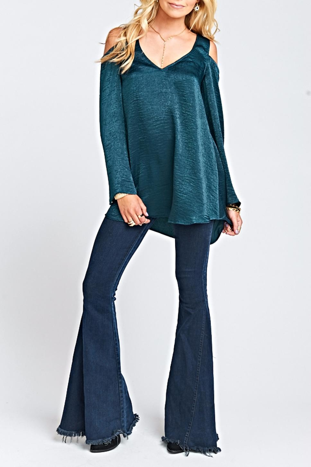 Show Me Your Mumu Shoulder Boo Tunic - Back Cropped Image