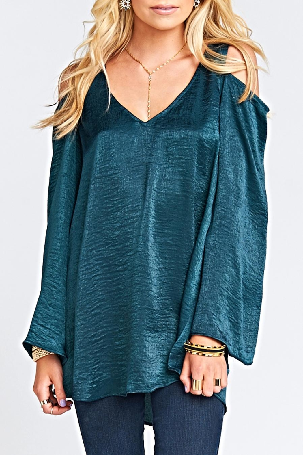 Show Me Your Mumu Shoulder Boo Tunic - Front Cropped Image