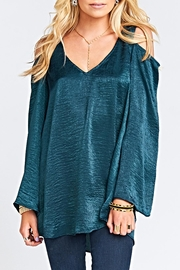 Show Me Your Mumu Shoulder Boo Tunic - Front cropped