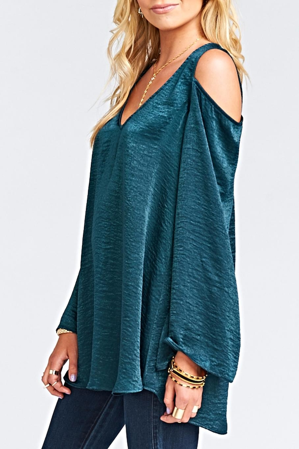 Show Me Your Mumu Shoulder Boo Tunic - Front Full Image