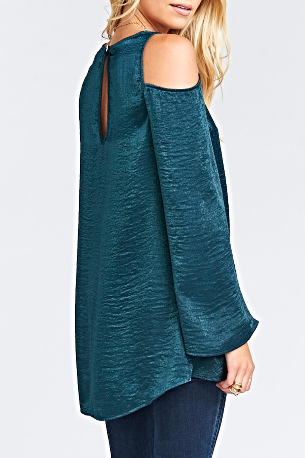 Show Me Your Mumu Shoulder Boo Tunic - Side Cropped Image