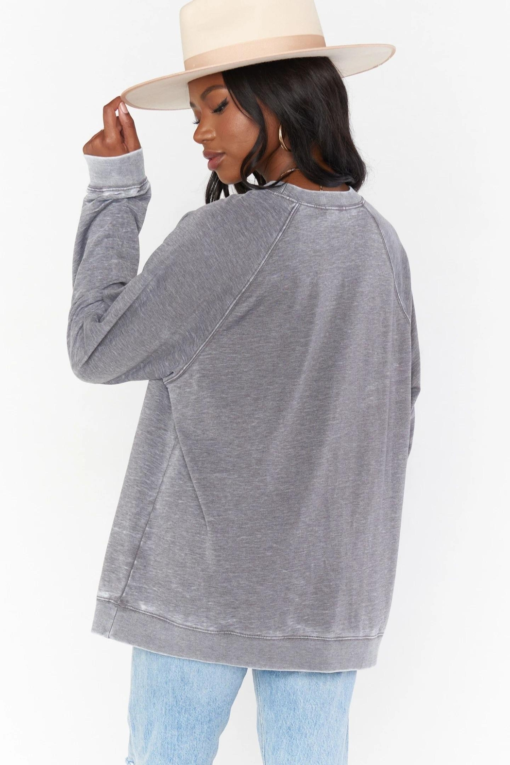 Show Me Your Mumu Simon Pullover - Side Cropped Image