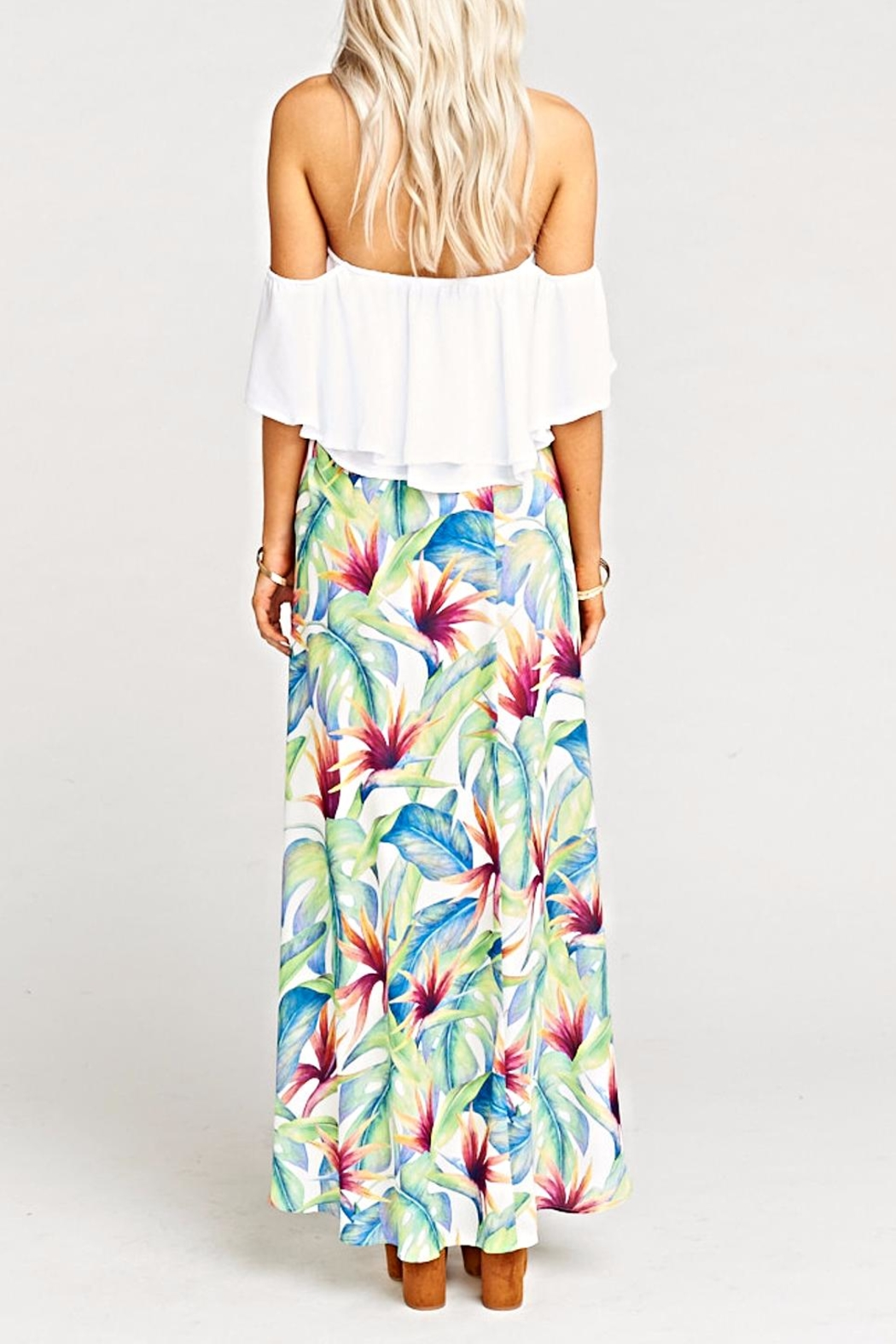 Show Me Your Mumu Siren Wrap Skirt - Side Cropped Image