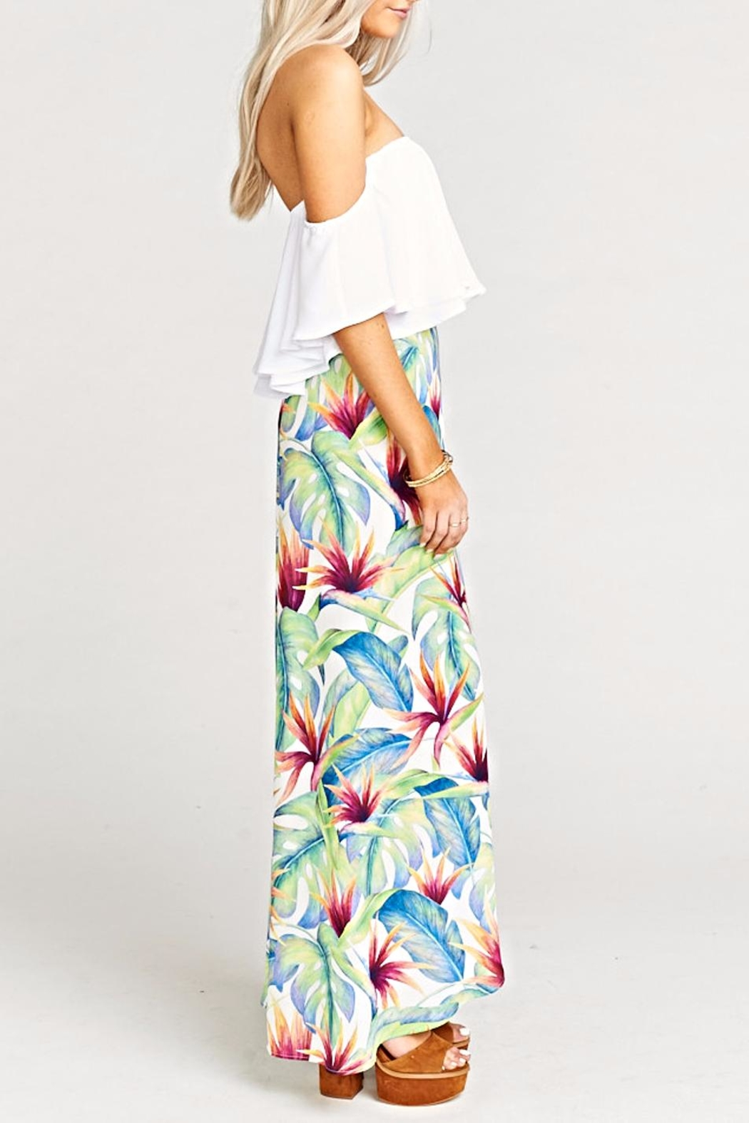 Show Me Your Mumu Siren Wrap Skirt - Front Full Image