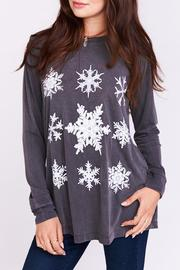 Show Me Your Mumu Snowflake Long Sleeve Top - Product Mini Image
