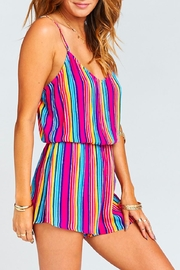 Show Me Your Mumu Stripe Rorey Romper - Side cropped