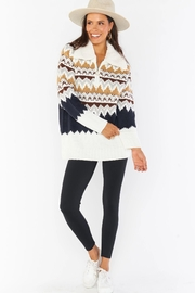 Show Me Your Mumu Sun Valley Pullover - Front cropped