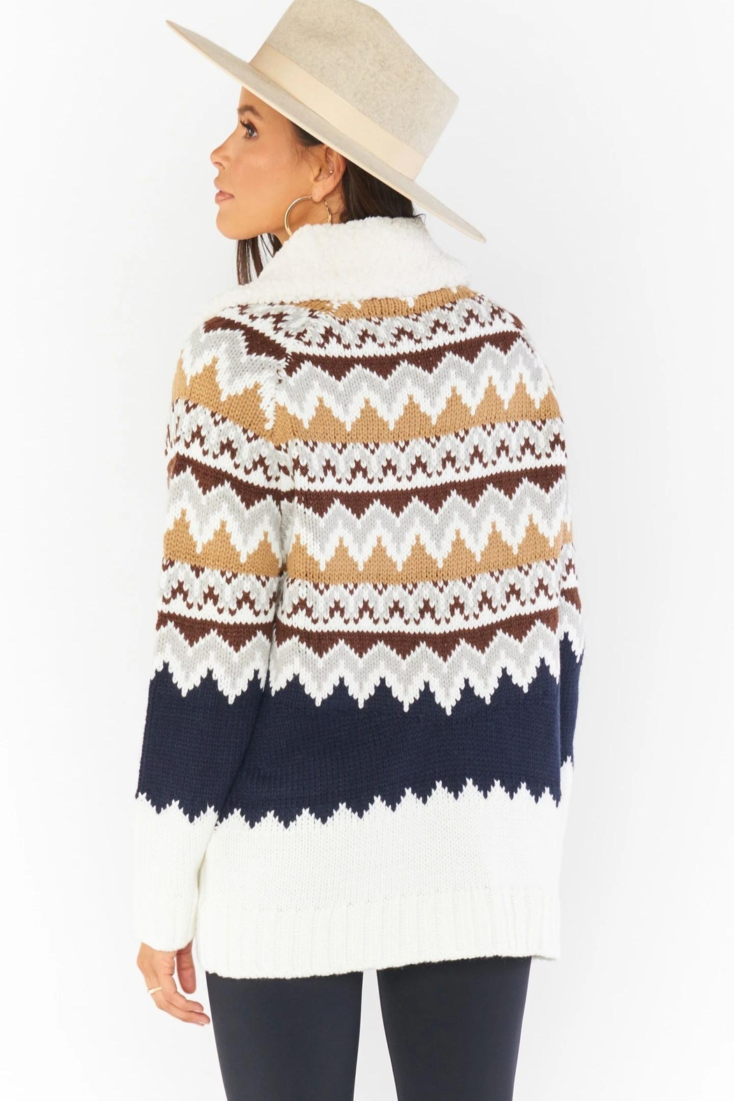 Show Me Your Mumu Sun Valley Pullover - Back Cropped Image