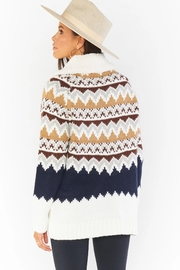 Show Me Your Mumu Sun Valley Pullover - Back cropped