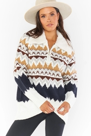 Show Me Your Mumu Sun Valley Pullover - Front full body