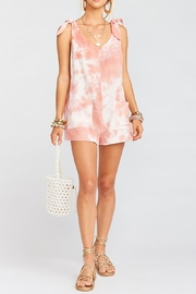 Show Me Your Mumu Tilda Tie Romper - Product Mini Image