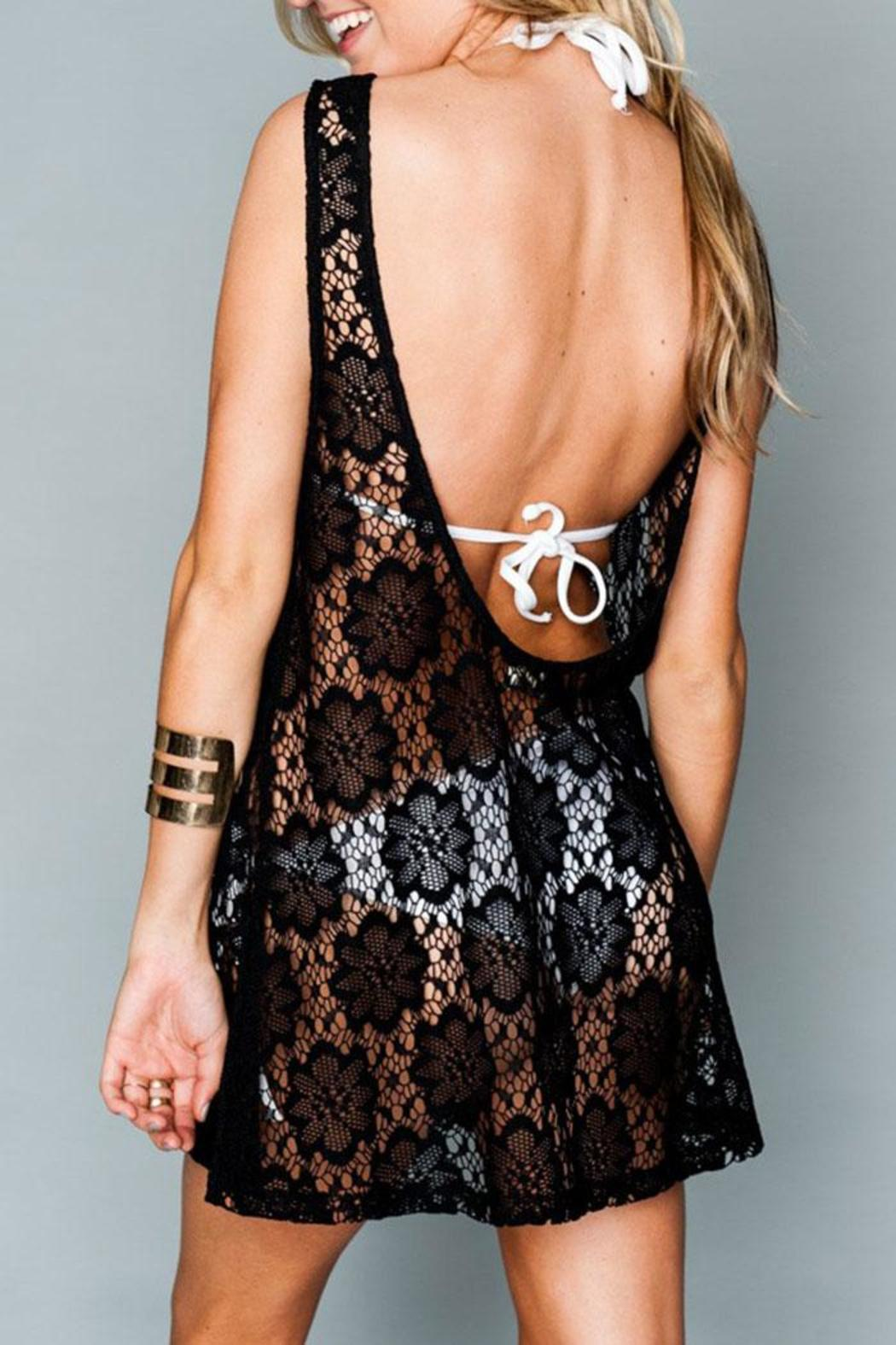 Show Me Your Mumu Tobin Lace Cover-Up - Side Cropped Image