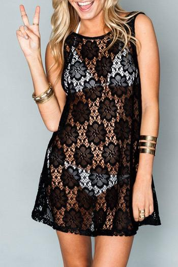 Shoptiques Product: Tobin Lace Cover-Up - main