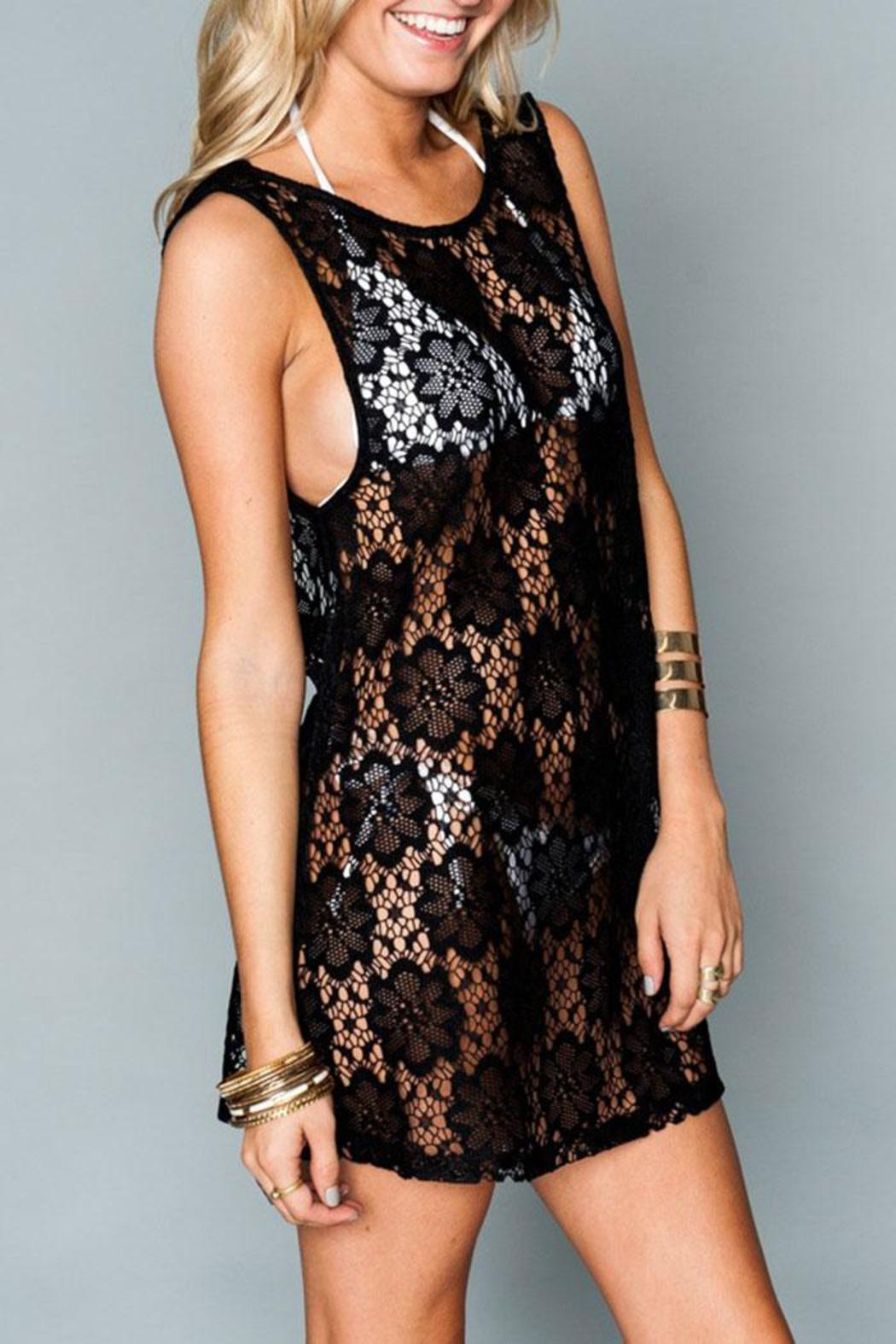 Show Me Your Mumu Tobin Lace Cover-Up - Front Full Image