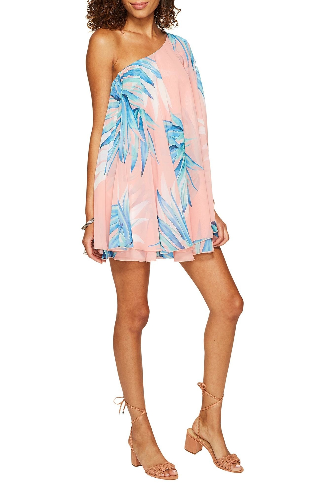 Show Me Your Mumu Tropical Twist Dress - Side Cropped Image