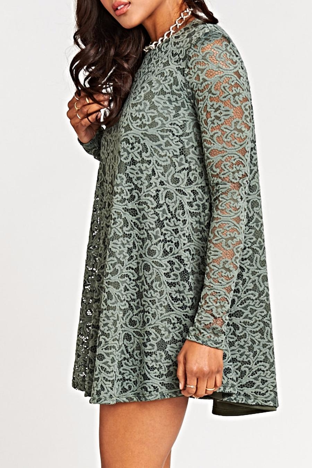 Show Me Your Mumu Tyler Tunic Dress - Side Cropped Image