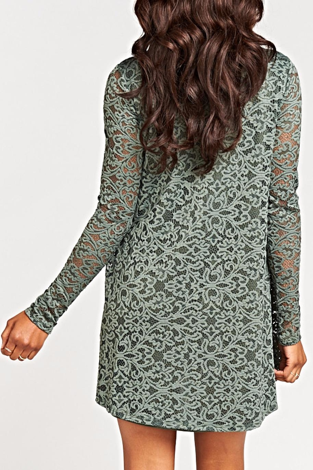Show Me Your Mumu Tyler Tunic Dress - Back Cropped Image