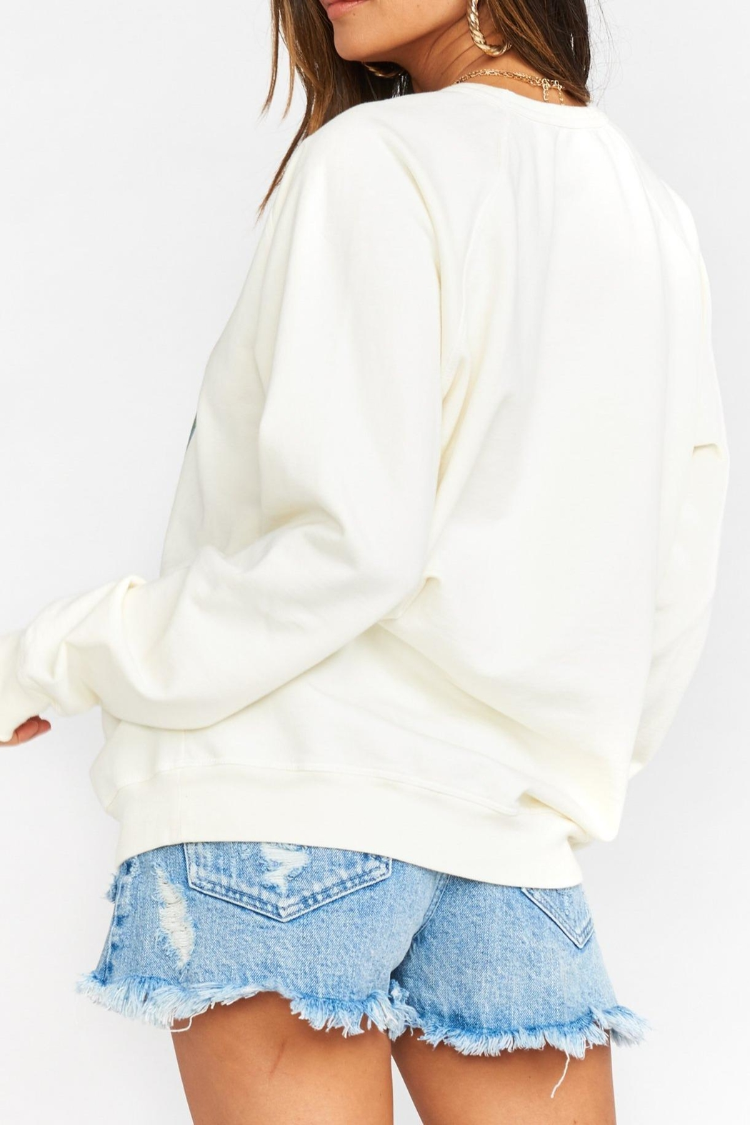 Show Me Your Mumu Vada Sweatshirt - Back Cropped Image