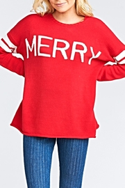 Show Me Your Mumu Varsity Sweater - Product Mini Image