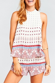 Show Me Your Mumu Walter V Back Top - Side cropped