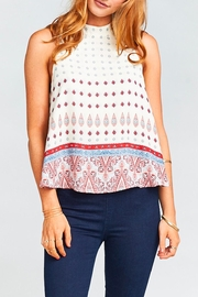 Show Me Your Mumu Walter V Back Top - Front cropped