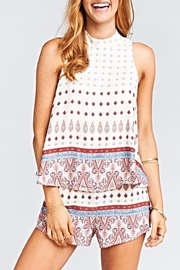 Show Me Your Mumu Walter V-Back Top - Product Mini Image