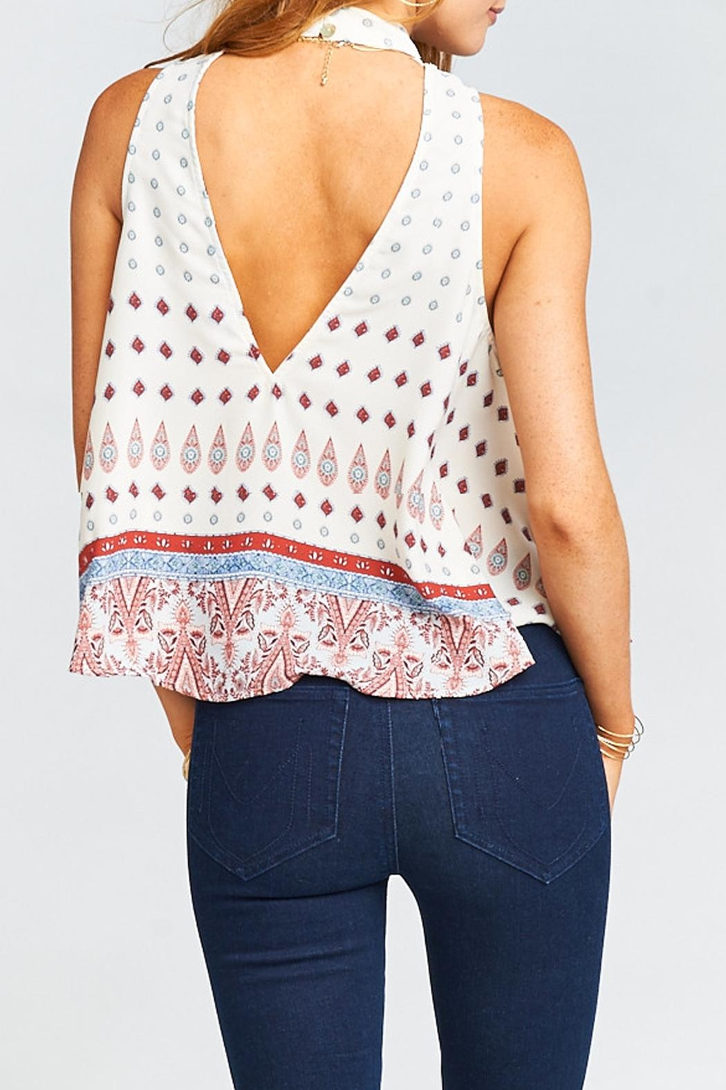 Show Me Your Mumu Walter V Back Top - Front Full Image