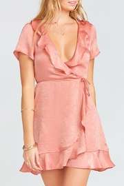 Show Me Your Mumu Winnie Wrap Dress - Product Mini Image