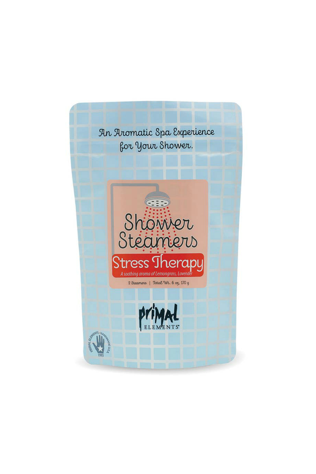 Primal Elements SHOWER STEAMERS- STRESS THERAPY - Main Image