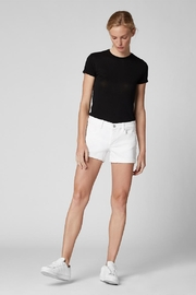 BlankNYC Showtime Denim Shorts - Front cropped