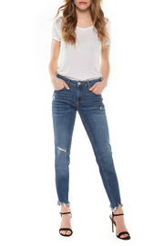 Dex Shredded Hem Super Skinny Jean - Product Mini Image