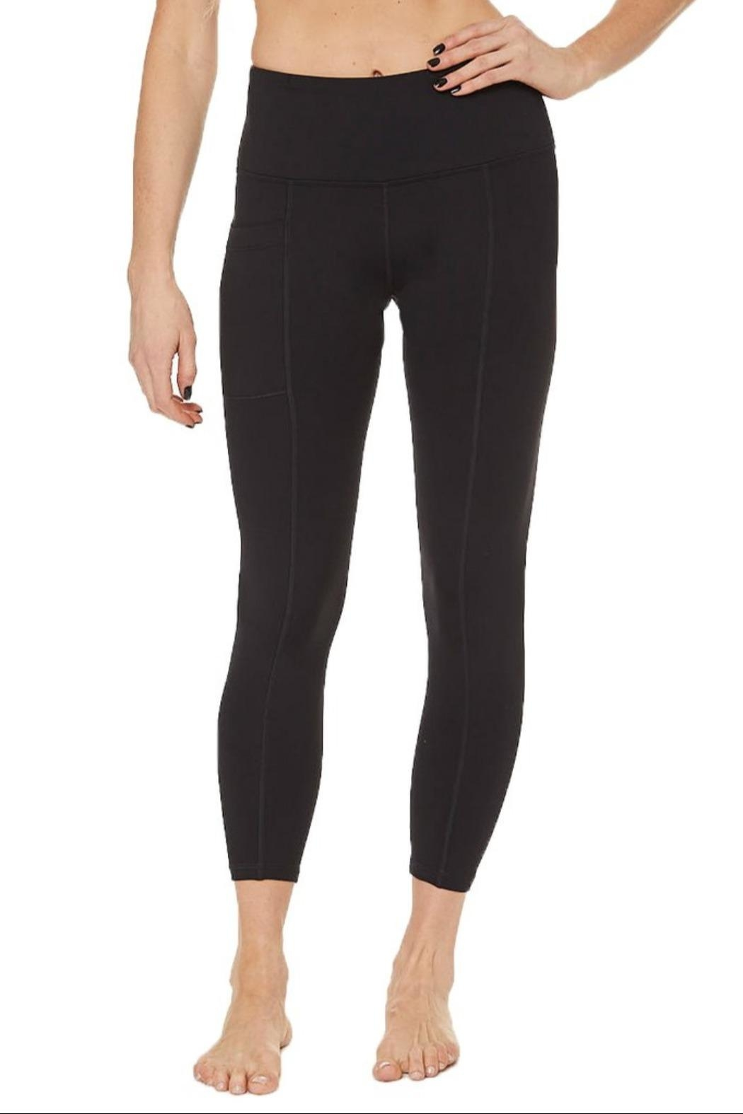 Nancy Rose Shuffle Pocket Legging - Front Full Image