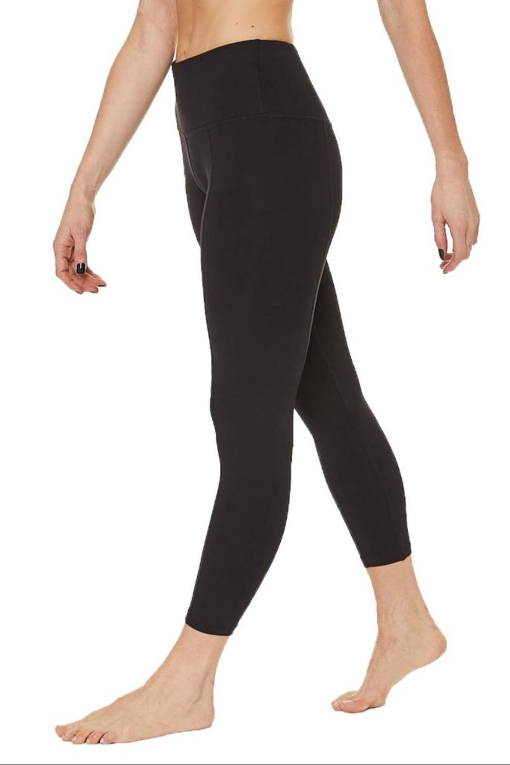 Nancy Rose Shuffle Pocket Legging - Side Cropped Image