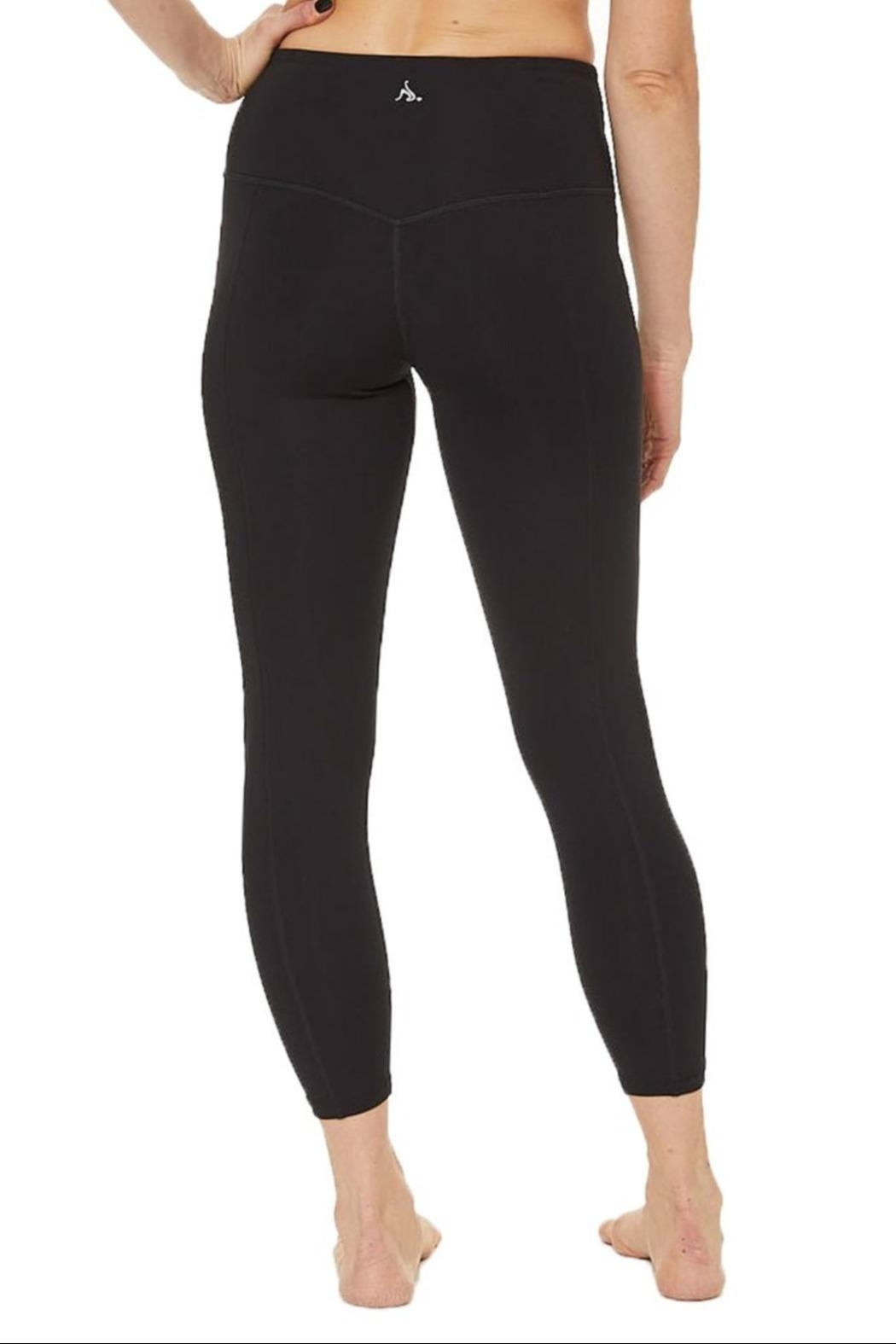 Nancy Rose Shuffle Pocket Legging - Back Cropped Image