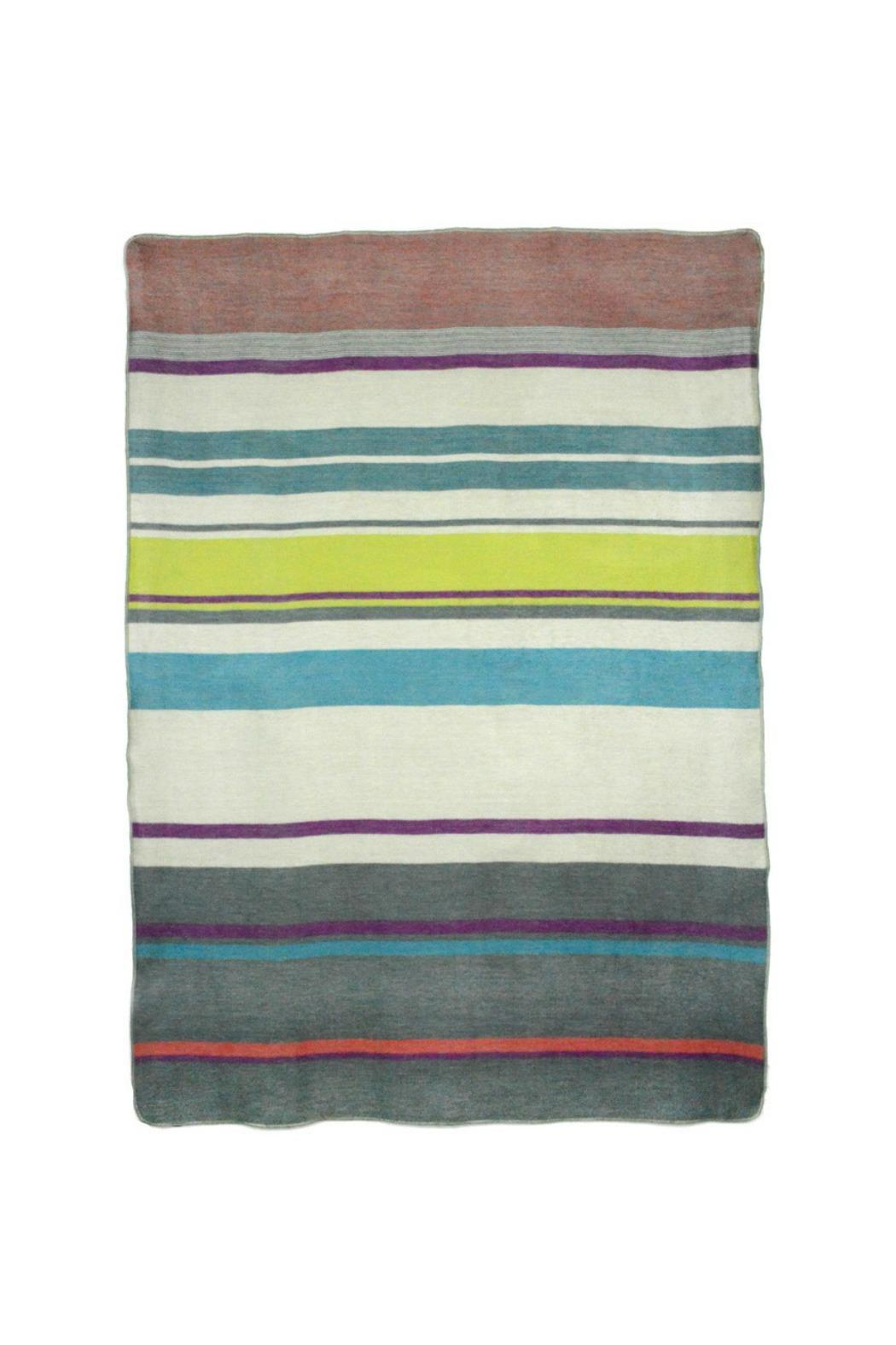 Shupaca Metro Alpaca Throw - Front Full Image