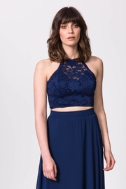 ShuShine Lace Halter Top - Product Mini Image