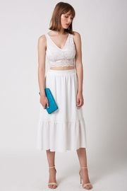 ShuShine White Midi Skirt - Product Mini Image
