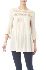 SI Style Dot Com Front Stitch Top - Product Mini Image