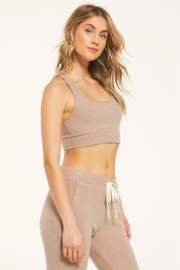 Zsupply Sia Rib Tank Bra - Side cropped