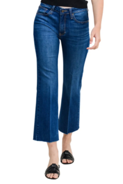 Shoptiques Product: Sicily Cropped Flare Jeans
