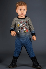 Rock Your Baby Sid Lives Playsuit - Front full body