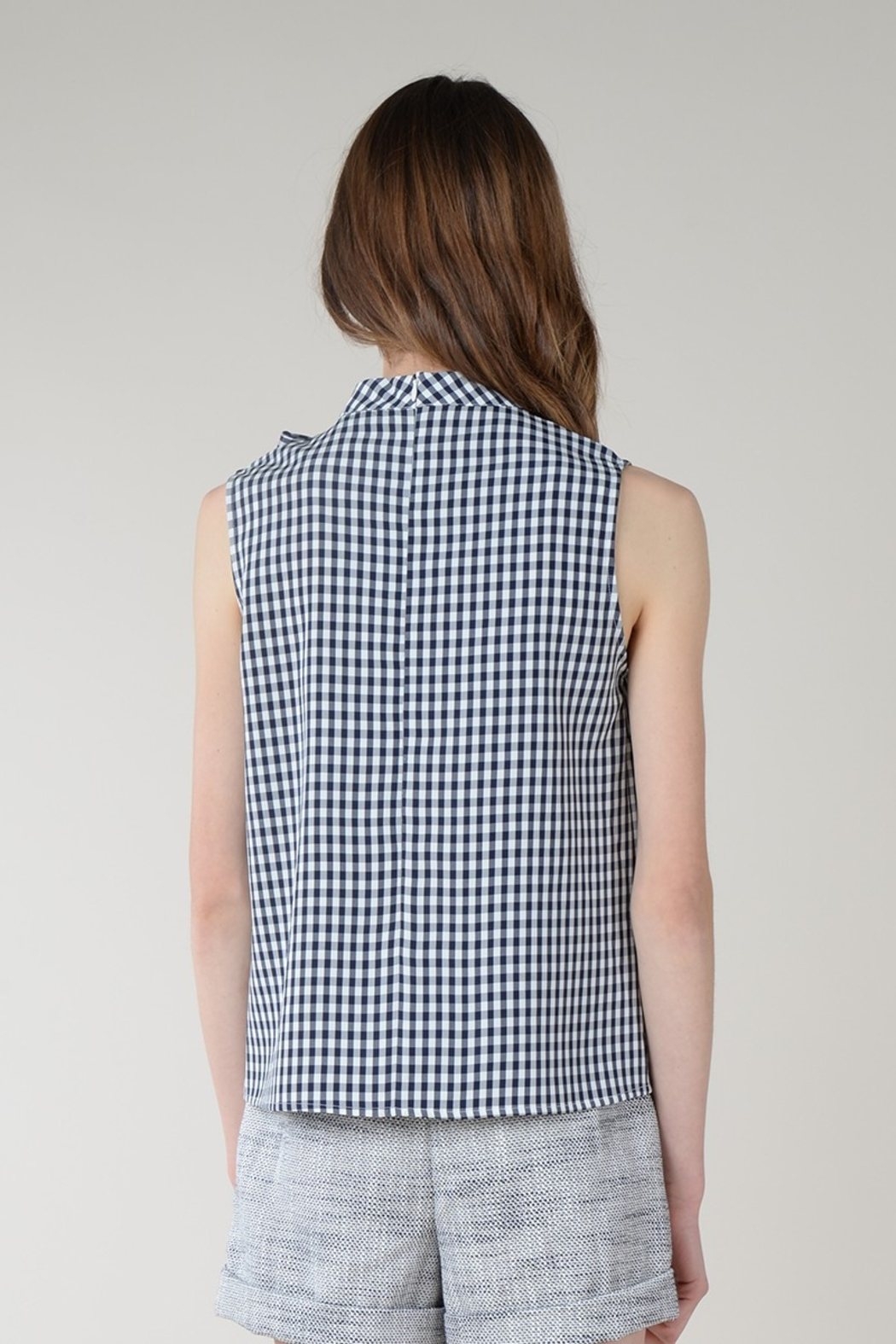 Molly Bracken SIDE BOW TOP SLEEVELESS - Side Cropped Image
